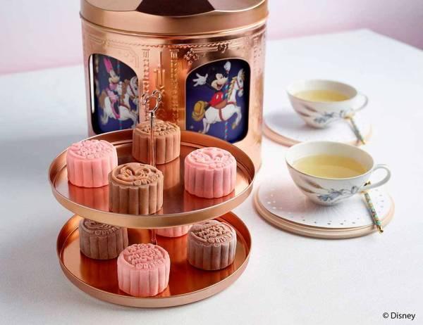 2.Crystal Jade Mickey and Friends Musical Carousel Mooncake Bo