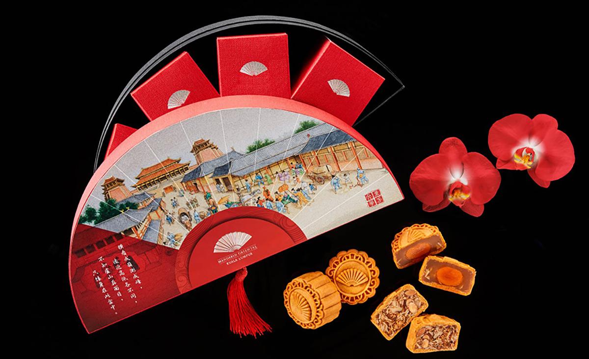 Mandarin Oriental Mooncake box