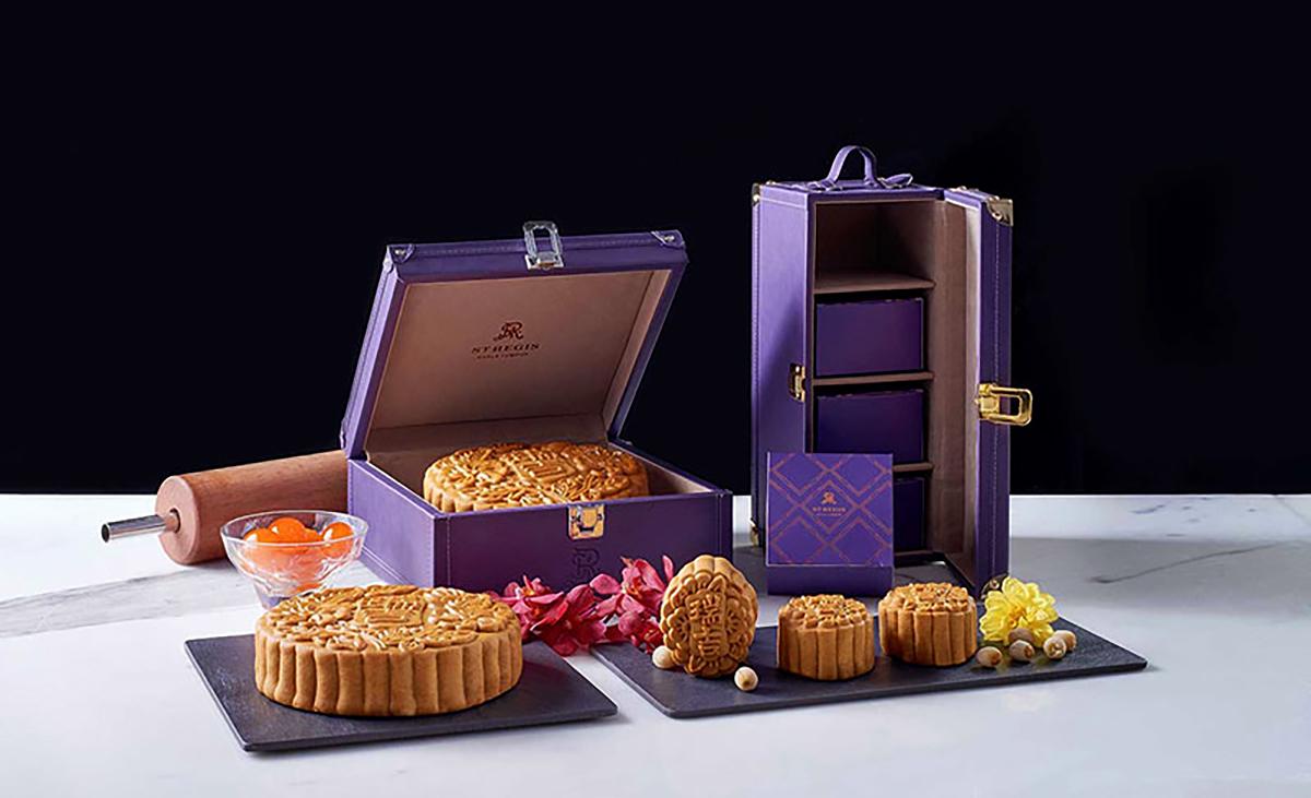 The St Regis Kuala Lumpur, mooncake boxes