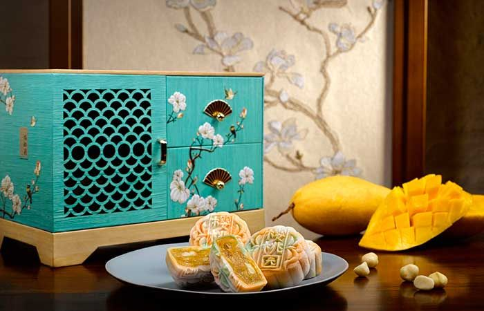 Mandarin Oriental Singapore Mooncake Storage Box